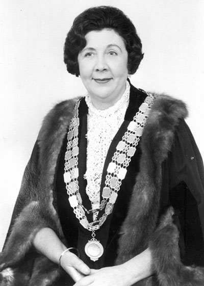 Nellie Elizabeth Robinson OBE (1915 – 19 September 1992) was elected Queensland's first woman mayor in 1967.